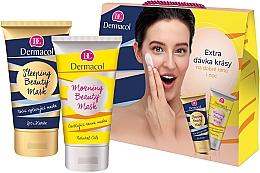 Parfumuri și produse cosmetice Set - Dermacol Beauty Mask Set (mask/150ml + mask/150ml)