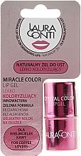 Parfumuri și produse cosmetice Gel roz de buze - Laura Conti Miracle Color Lip Gel