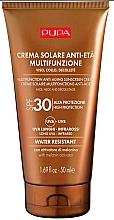 Parfumuri și produse cosmetice Cremă anti-îmbătrânire de protecție solară pentru față și decolteu - Pupa Anti-Aging Sunscreen Cream SPF 30