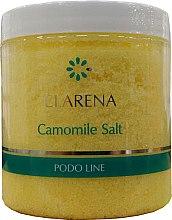 Parfumuri și produse cosmetice Sare fină cu extract de mușețel pentru pedichiură - Clarena Podo Line Camomile Salt