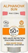 Parfumuri și produse cosmetice Stick cu protecție solară - Alphanova Sun Pink Coral SPF50+