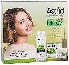 Parfumuri și produse cosmetice Set - Astrid Citylife Detox (cr/50ml + m/water/400ml)