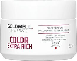 Parfumuri și produse cosmetice Mască intensivă pentru păr vopsit - Goldwell DualSenses Color Extra Rich 60sec Treatment