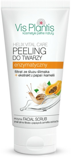 Peeling enzimatic pentru față - Vis Plantis Helix Vital Care Enzyme Facial Scrub