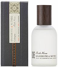 Parfumuri și produse cosmetice Bath House Spanish Fig and Nutmeg - Apă de colonie