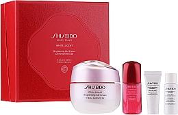 Set - Shiseido White Lucent Beauty Blossoms Holiday Kit (f/cr/50ml + f/foam/5ml + f/softner/7ml + conc/10ml) — Imagine N1