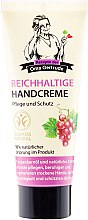 Parfumuri și produse cosmetice Cremă hrănitoare pentru mâini - Rezepte der Oma Gertrude