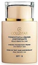 Parfumuri și produse cosmetice Bază pentru make-up - Collistar Foundation Primer Perfect Skin Smoothing 24H SPF15