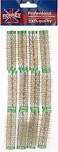 Parfumuri și produse cosmetice Bigudiuri 15/63 mm, verzi - Ronney Professional Wire Curlers