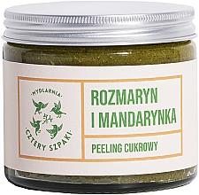"""Parfumuri și produse cosmetice Scrub pentru corp """"Rozmarin și mandarină"""" - Cztery Szpaki"""
