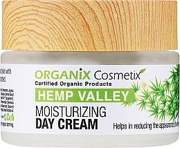 Parfumuri și produse cosmetice Cremă hidratantă de zi pentru față - Organix Cosmetix Hemp Valley Moisturizing Day Cream