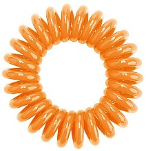 Elastic de păr, orange, 3buc. - HH Simonsen Hair Bobbles Orange — Imagine N2
