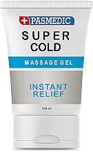 Parfumuri și produse cosmetice Gel pentru masaj corporal Super Cold - Pasmedic Super Cold Massage Gel