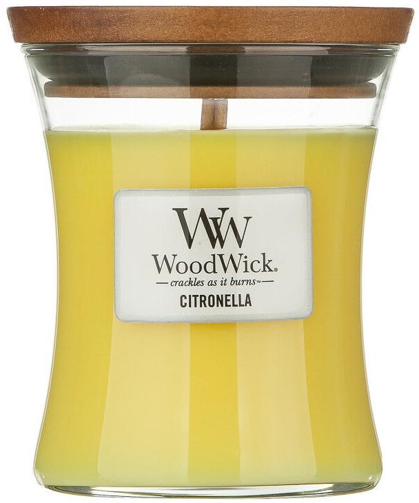 Lumânare aromatică în pahar - WoodWick Citronella Medium Candle — Imagine N1