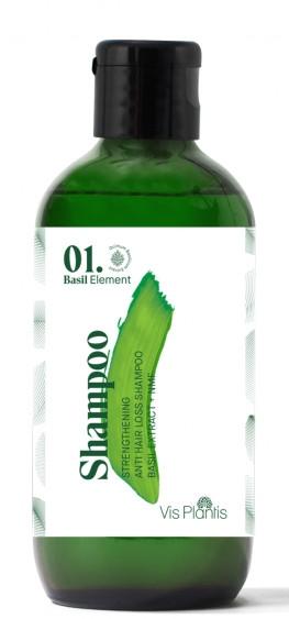 Șampon pentru întărirea părului - _Element Basil Strengthening Anti-Hair Loss Shampoo (mini) — Imagine N1
