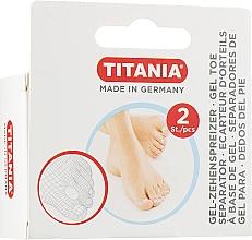 Parfumuri și produse cosmetice Separator din silicon pentru degetul mare de la picior - Titania