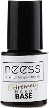 Parfumuri și produse cosmetice Gel lac bază transparent - Neess Extremely Hard Base