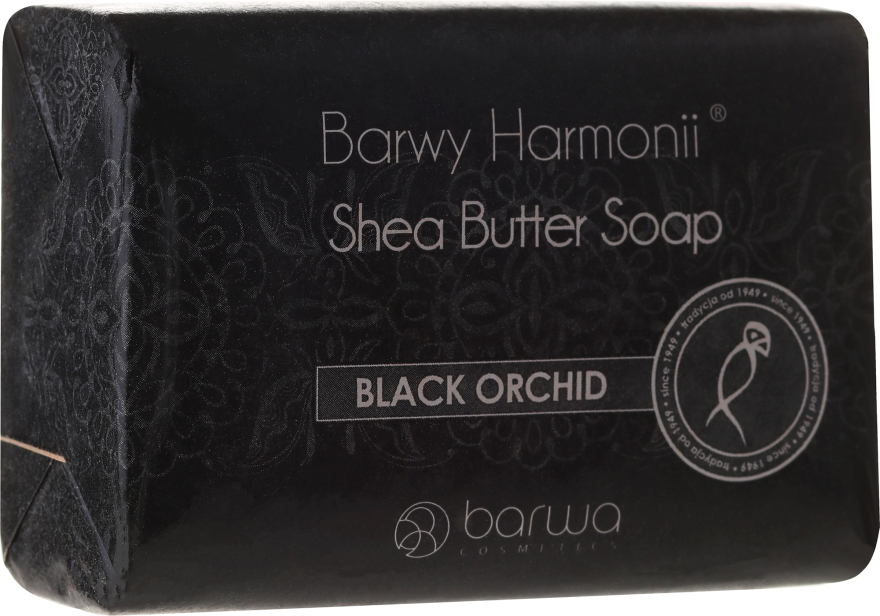 Săpun cu extract de orhidee neagră - Barwa Harmony Soap Black Orchid