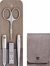 Parfumuri și produse cosmetice Set manichiură, 4 piese - Tweezerman Twinox Manicure Set