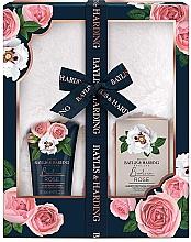 Parfumuri și produse cosmetice Set - Baylis & Harding Boudoire Rose Slipper Set (b/lot/140ml + b/salt/100g + acc)