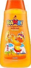 Parfumuri și produse cosmetice Spumă de baie Exotic - Bambi