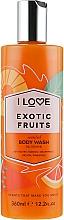 "Parfumuri și produse cosmetice Gel de duș ""Fructe exotice"" - I Love Exotic Fruits Body Wash"