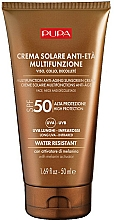 Parfumuri și produse cosmetice Cremă anti-îmbătrânire de protecție solară pentru față și decolteu - Pupa Anti-Aging Sunscreen Cream SPF 50