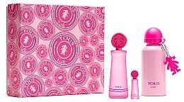 Parfumuri și produse cosmetice Tous Kids Girl - Set (edt/100ml + edt/mini/4ml + bottle)
