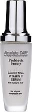 Parfumuri și produse cosmetice Ser facial cu vitamina C - Absolute Care Prebiotic Beauty Clarifying Vitamin C Serum