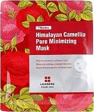 Parfumuri și produse cosmetice Mască de față - Leaders 7 Wonders Himalayan Camellia Pore Minimizing Mask