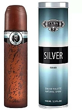 Parfumuri și produse cosmetice Cuba Silver - Apă de toaletă