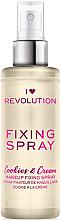Parfumuri și produse cosmetice Fixator de machiaj - I Heart Revolution Fixing Spray Cookies & Cream