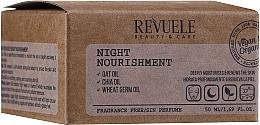 Parfumuri și produse cosmetice Cremă nutritivă de față - Revuele Vegan & Organic Night Nourishment