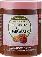Parfumuri și produse cosmetice Mască de păr cu ulei organic de cactus Opuntia - GlySkinCare Organic Opuntia Oil Hair Mask