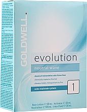 Parfumuri și produse cosmetice Set pentru ondularea părului tratat chimic sau fin - Goldwell Evolution Neutral Wave 1 New