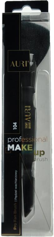 Pensulă pentru machiaj 104 - Auri Professional Fan Brush 104