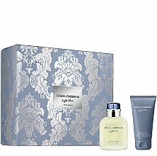 Parfumuri și produse cosmetice Dolce & Gabbana Light Blue Pour Homme - Set (edt/75ml + ash/balm/50ml)
