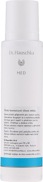 Balsam pentru îngrijirea pielii uscate - Dr. Hauschka Med Ice Plant Body Care Lotion — Imagine N3
