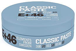 Parfumuri și produse cosmetice Pastă pentru păr - E+46 Classic Paste