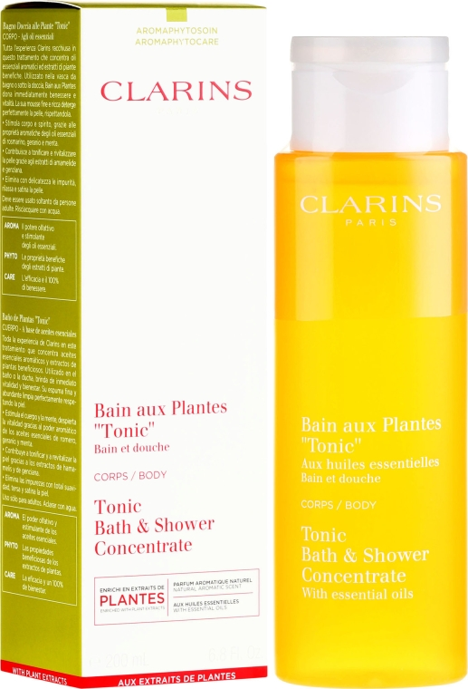 Spuma de baie - Clarins Tonic Bath & Shower Concentrate