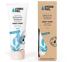 Parfumuri și produse cosmetice Pastă de dinţi - Hydrophil Sweet Herbs Toothpaste