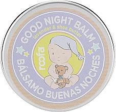 """Parfumuri și produse cosmetice Balsam de seară pentru mamă și copil """"Unt de shea și Lavandă"""" - Roofa Good Night Balm"""