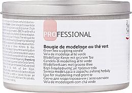 """Parfumuri și produse cosmetice Lumânare de masaj """"Ceai verde"""" - Peggy Sage"""