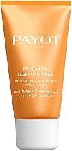 Parfumuri și produse cosmetice Mască de noapte împotriva oboselii și efect de strălucire a tenului - Payot My Payot Sleeping Pack