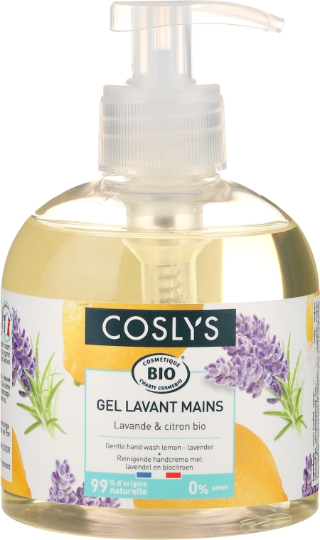 Cremă de mâini - Coslys Hand & Nail Care Hand Wash Cream Lemon & Lavender — Imagine N1