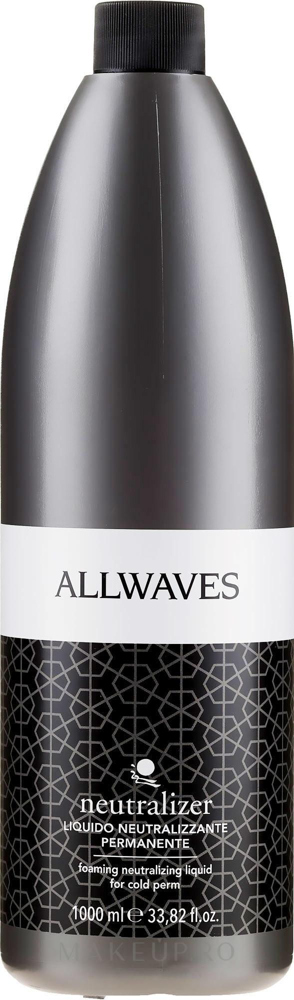 Neutralizator de păr - Allwaves Neutralizer — Imagine 1000 ml