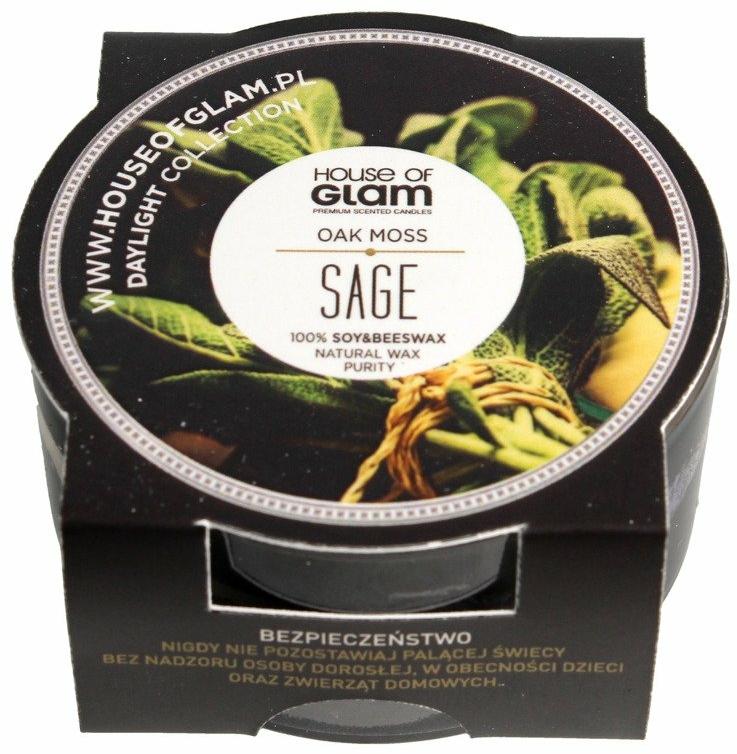 Lumânare aromată - House of Glam Oak Moss Sage Candle (mini) — Imagine N1