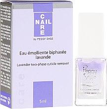 Parfumuri și produse cosmetice Soluție bifazică pentru eliminarea cuticulei - Peggy Sage Lavender Two-Phase Cuticle Remover