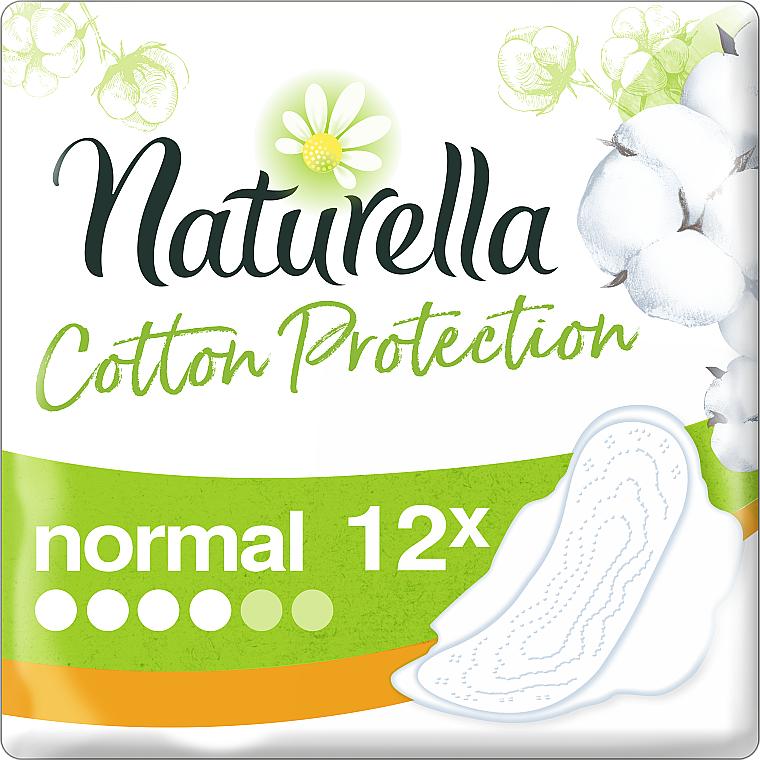 Absorbante, 12 bucăți - Naturella Cotton Protection Ultra Normal