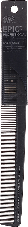 Pieptene pentru păr, neagră - Wet Brush Pro Epic Cutting Comb — Imagine N1
